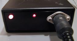 図1.口唇閉鎖状態連続記録装置